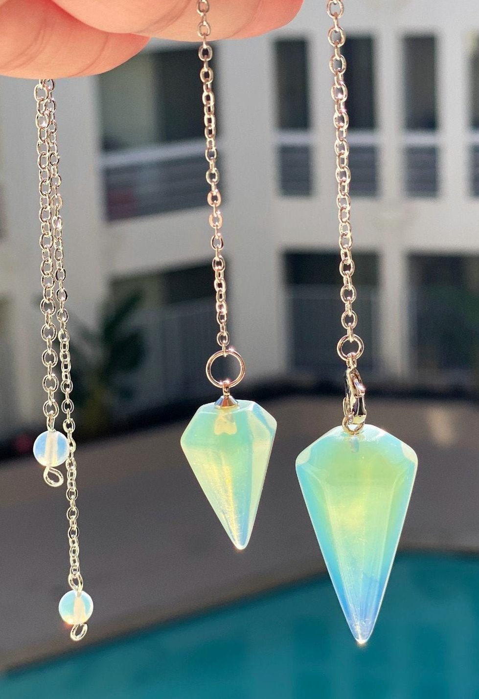 how to cleanse a pendulum