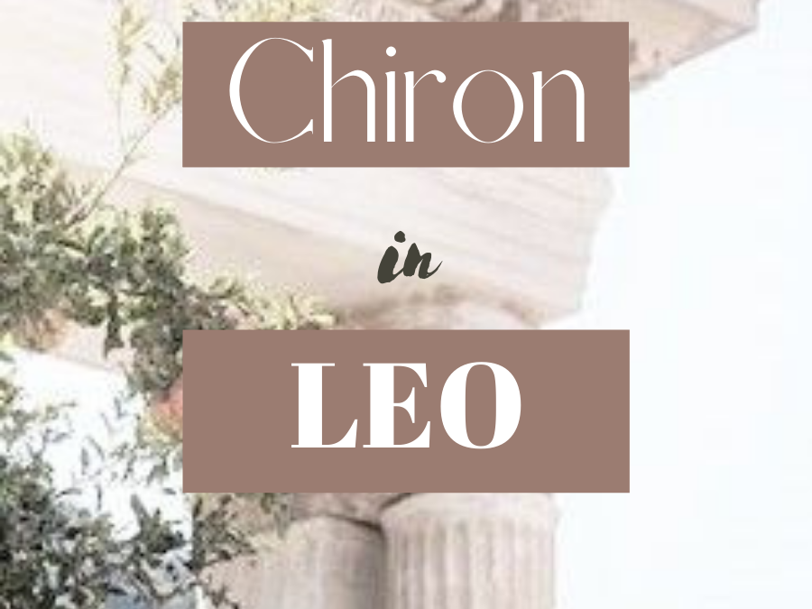 Chiron In Leo: The Wound Of Talent