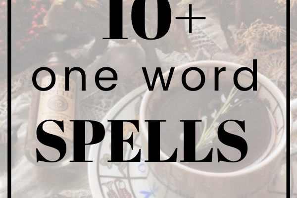 one word spells