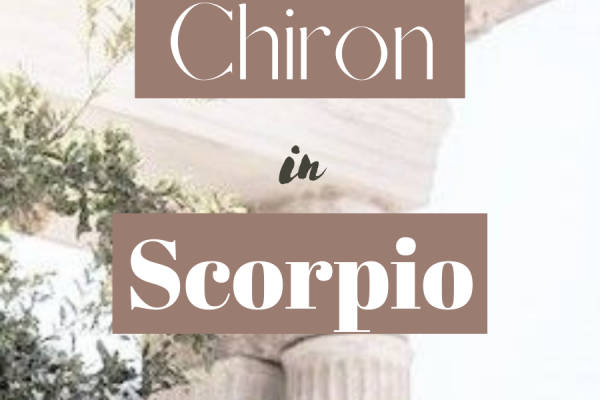 chiron in scorpio