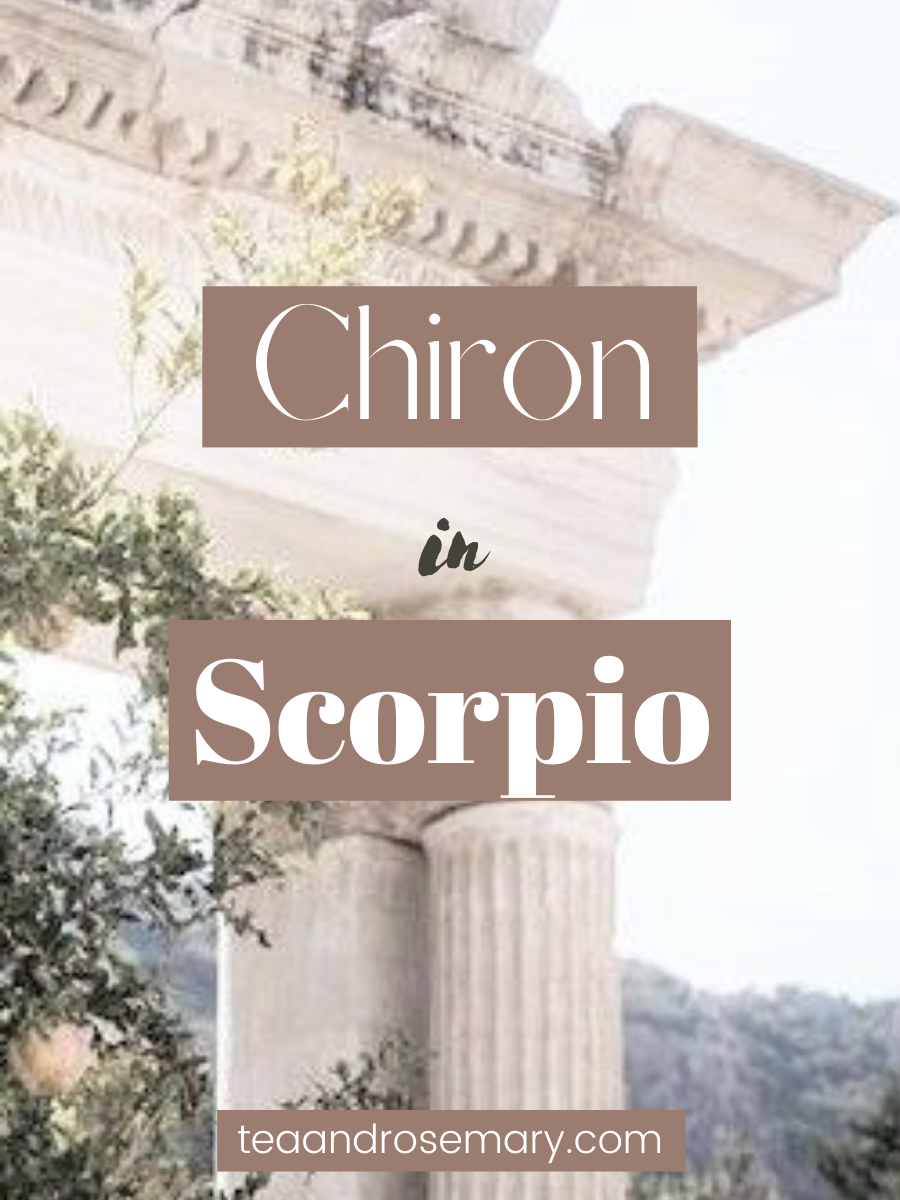Chiron in Scorpio: The Wound Of Control