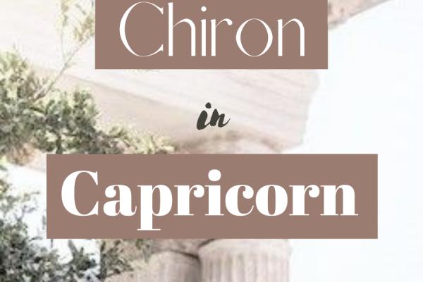 chiron in capricorn