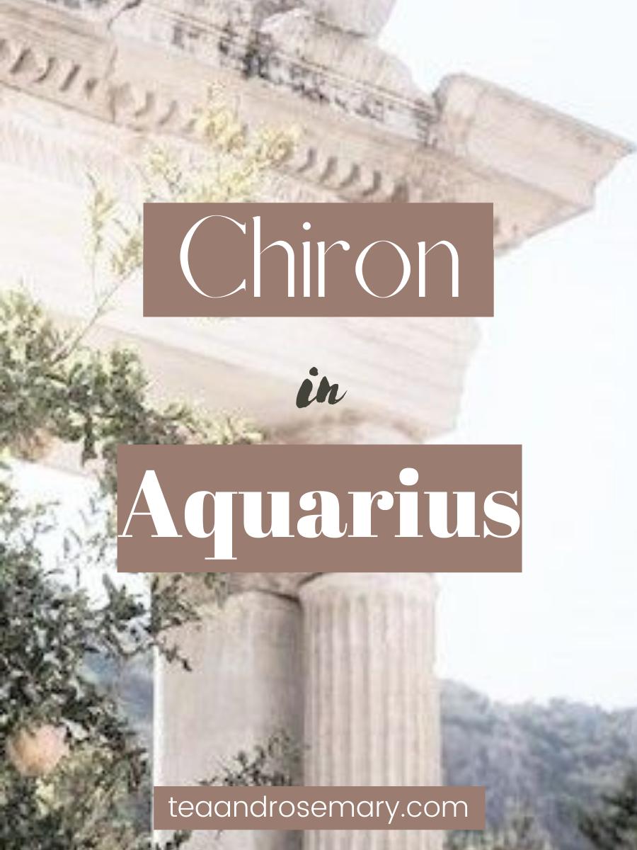 Chiron In Aquarius: The Wound Of Belonging