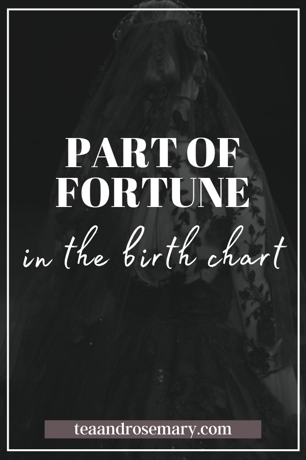 part of fortune astrology in the birth chart