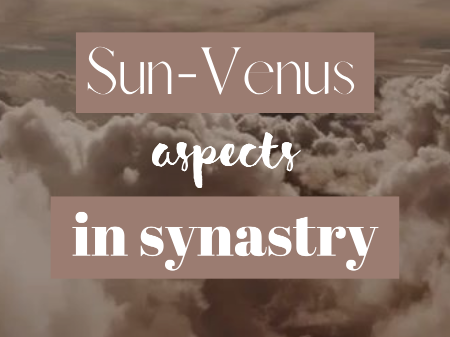 Venus-Sun Aspects In Synastry