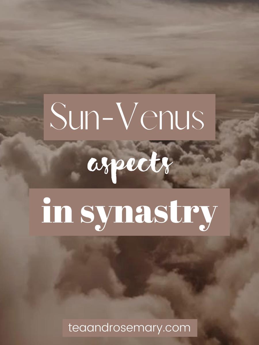 Venus-Sun Aspects In Synastry