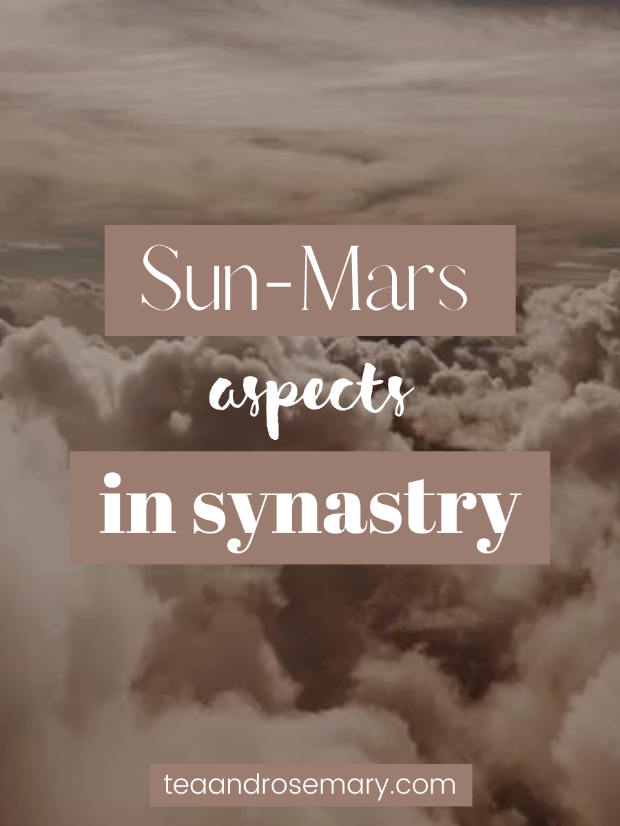 Mars-Sun Aspects In Synastry