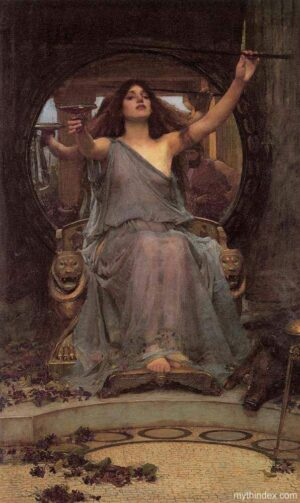 dark goddess, dark goddesses, circe
