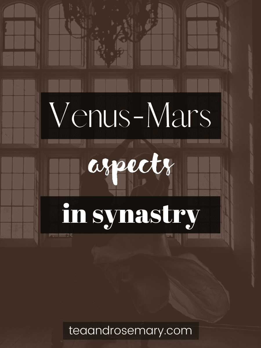 Venus-Mars Aspects In The Synastry Chart
