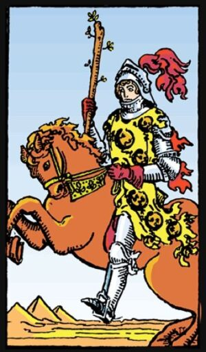 knight of wands, knight of wands love, knight of wands as advice, knight of wands as feelings, knight of wands meaning