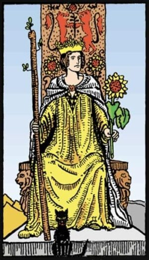 queen of wands as advice, queen of wands reversed, queen of wands in love, queen of wands as feelings, queen of wands meaning