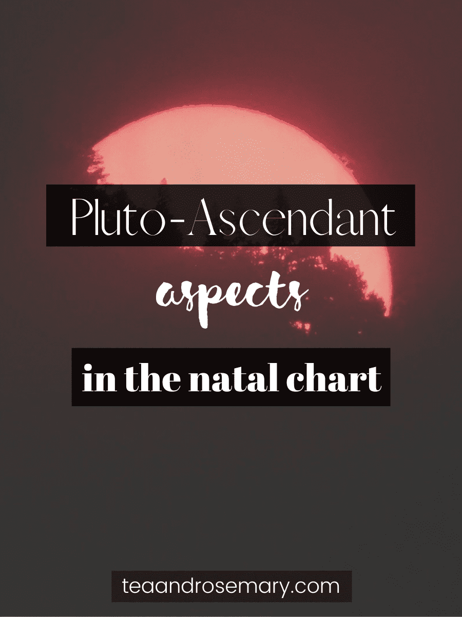 pluto ascendant aspects in the natal chart