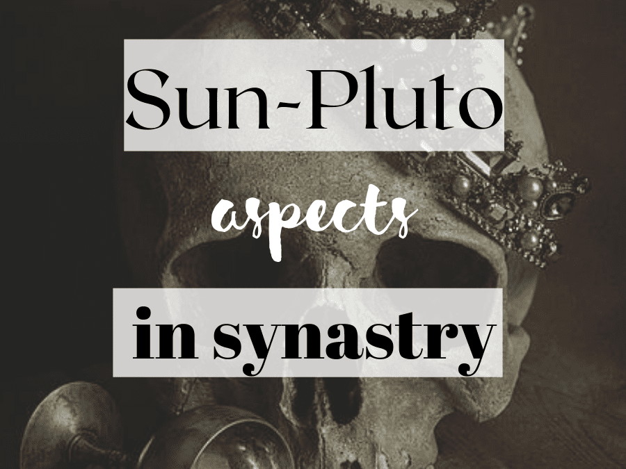 sun-pluto aspects in synastry