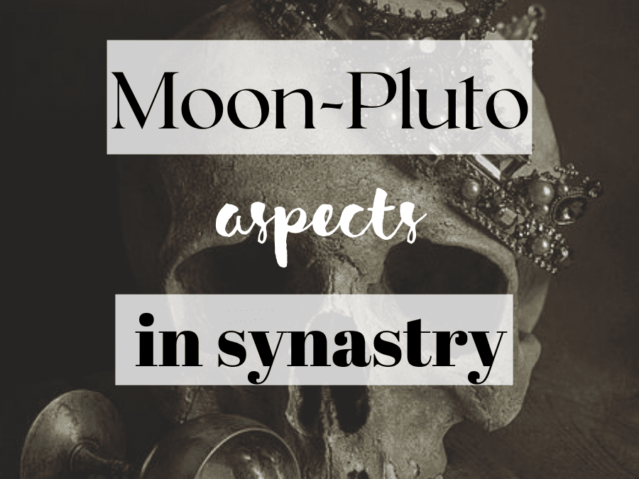moon-pluto aspects in synastry