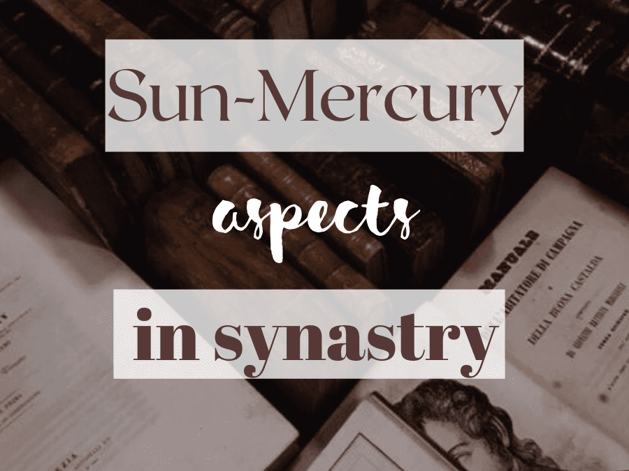 sun-mercury aspects in synastry