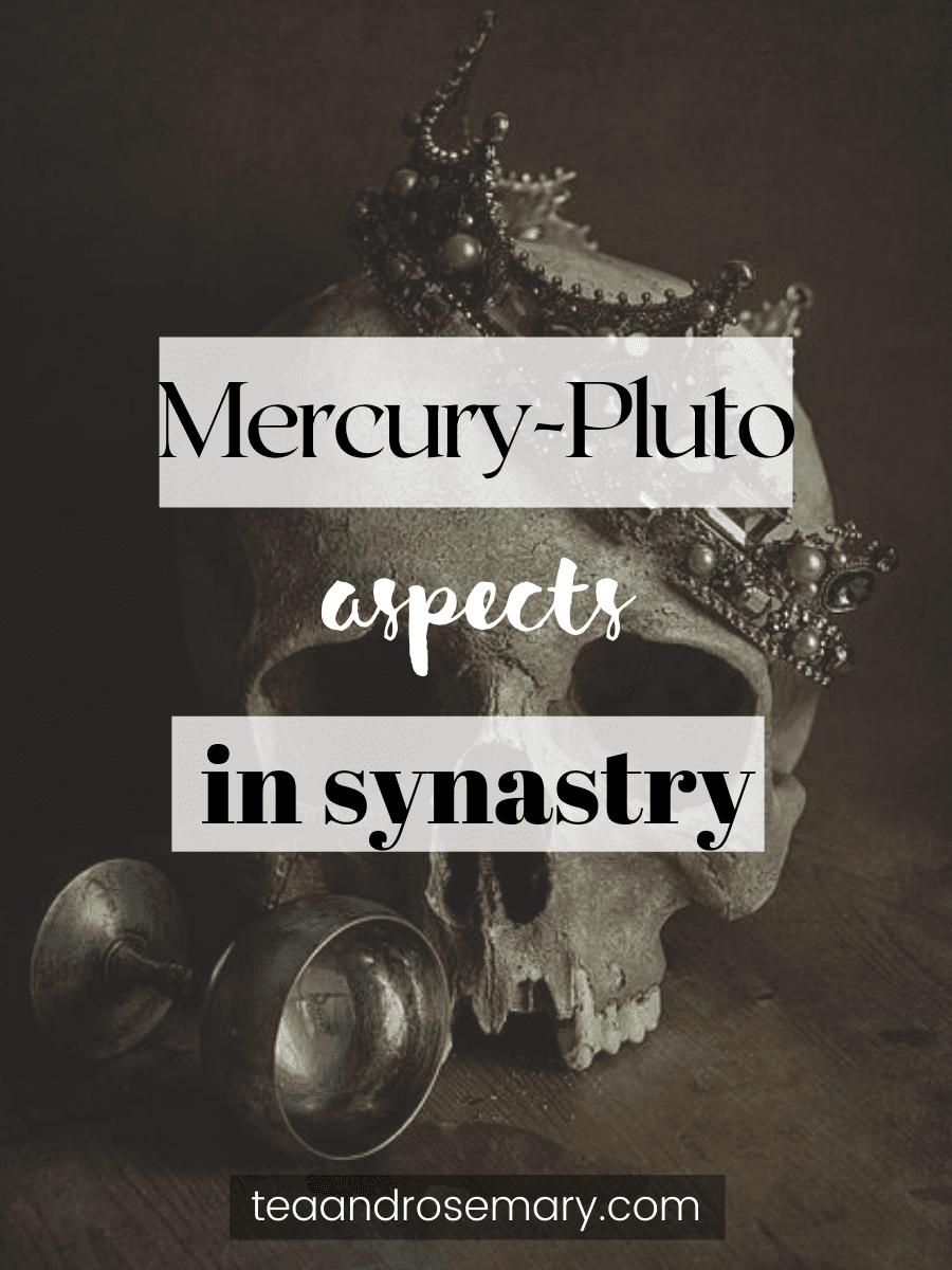 pluto-mercury aspects in the synastry chart