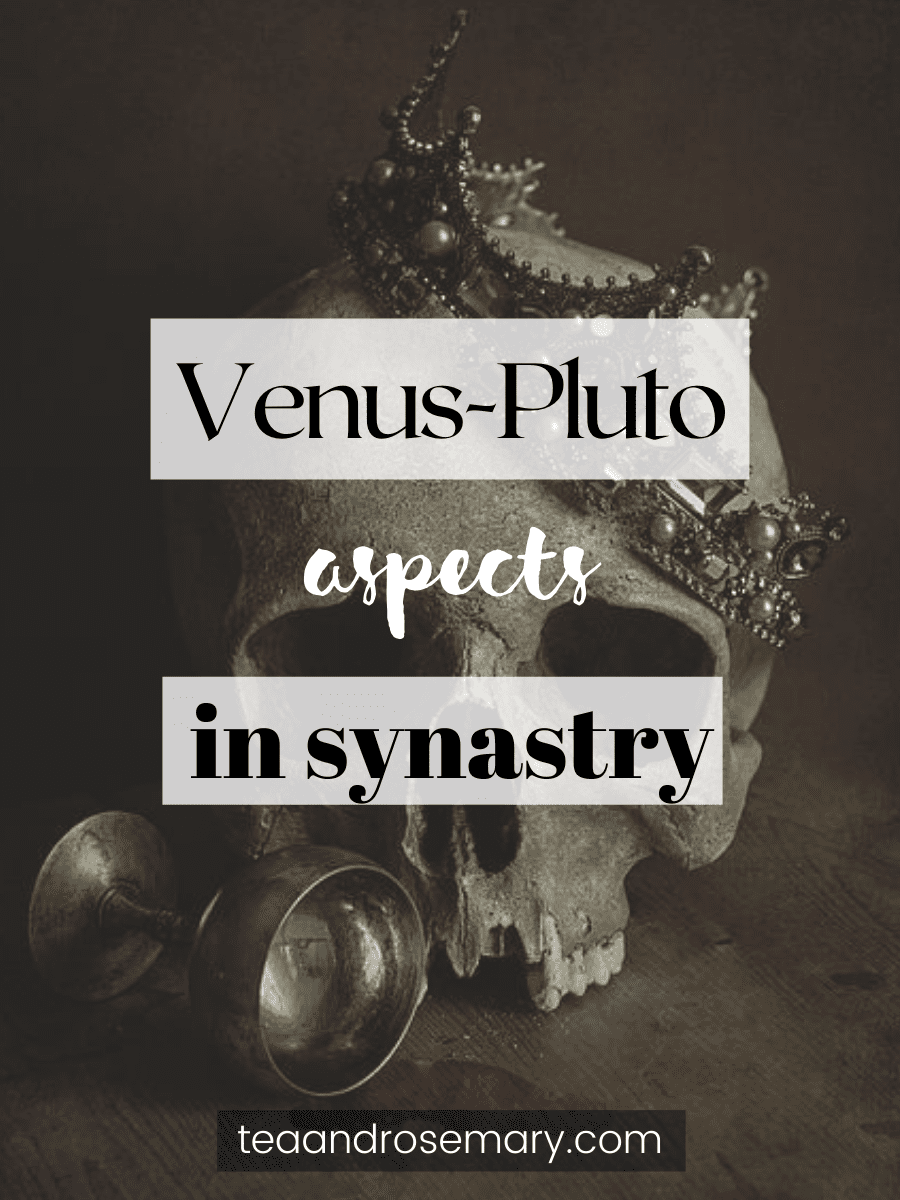 venus-pluto aspects in synastry