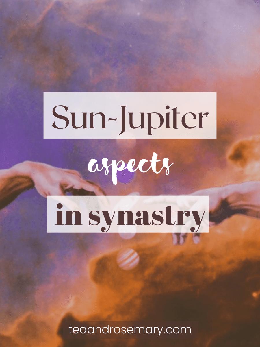 sun-jupiter aspects in synastry