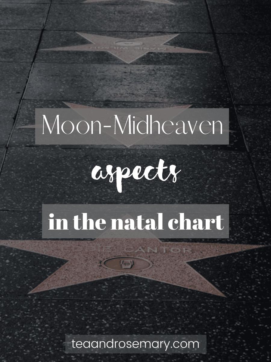 moon-midheaven aspects in the natal chart