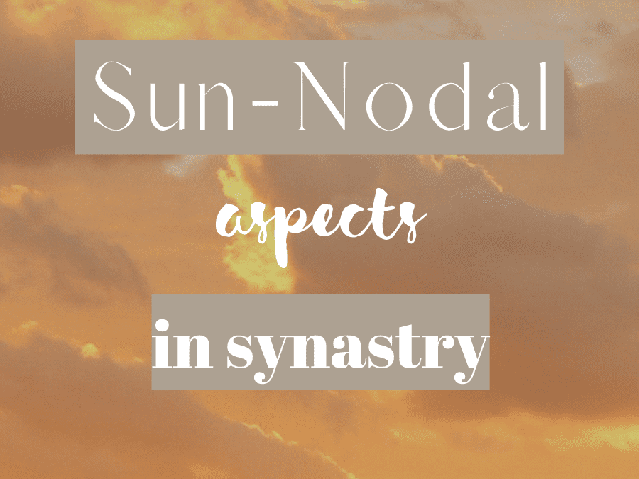sun conjunct north node synastry, sun conjunct south node synastry, sun trine north node synastry, sun square north node synastry