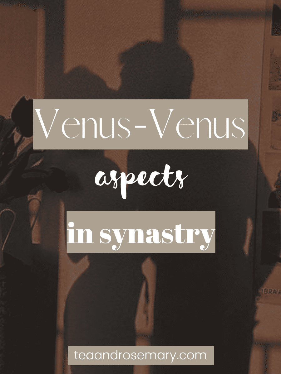 venus-venus aspects in the synastry chart