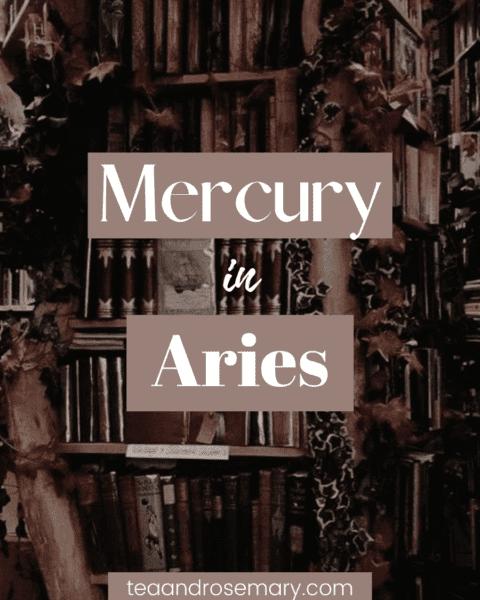 mercury in aries woman, mercury in aries man