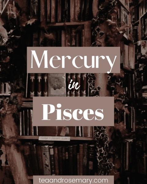 mercury in pisces man, mercury in pisces woman