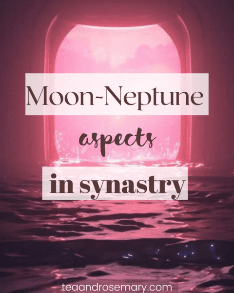 moon-neptune aspects in the synastry chart