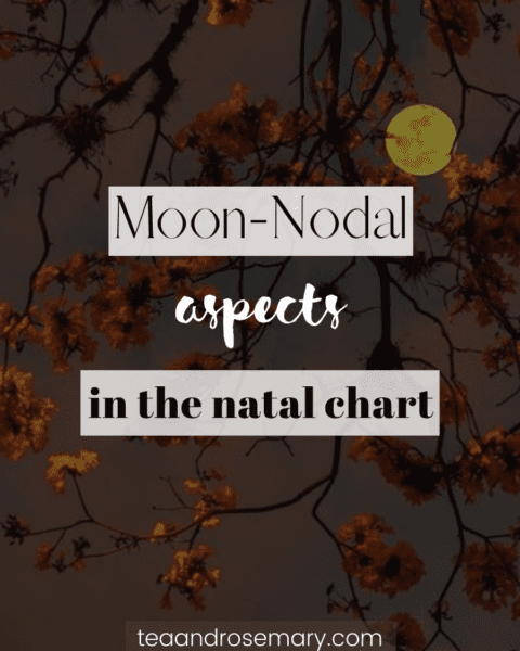 moon-nodal aspects in the natal chart